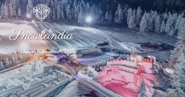 Snowlandia śnieżny labirynt Zakopane